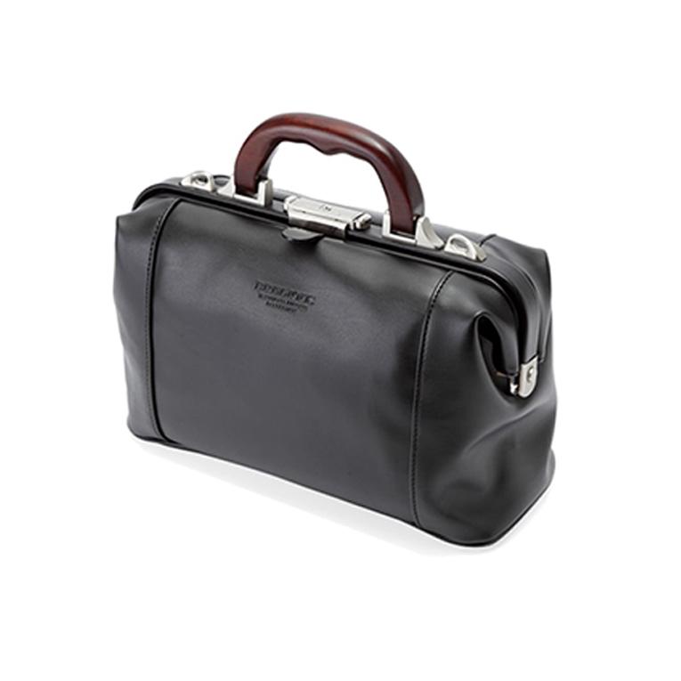 平野 ブレリアス 日本製 豊岡製鞄 軽量合皮木手ダレスボストン ビジネスバッグ トラベルバッグ B5 31cm #10429 黒