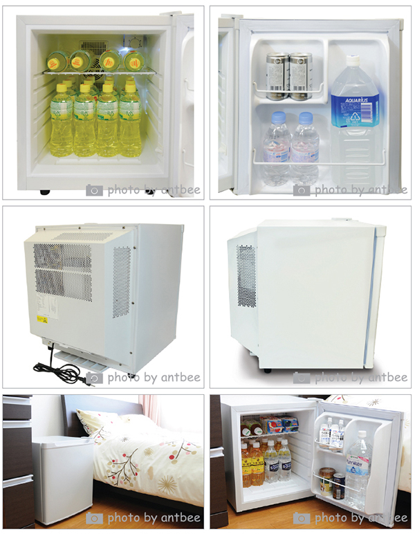 "Compact refrigerator energy saving 35 liter-Peltism (perciism) ""white Dune"" left open Pro series hospital, clinics and hotels-friendly refrigeration freezer Peltier fridge mini fridge electronic refrigerator alone 1-door 10P01Mar15"