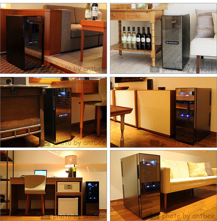 12-bottle wine cellar and wine cellar home wine cellar wine seller compressor type wine cooler winelaikshator Mouton Rothschild for set TOKYO BEETLE.