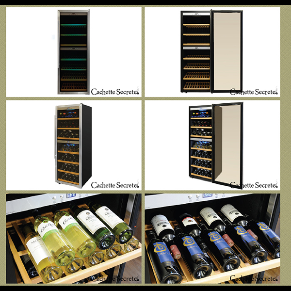 Product for Cachette Secrete (カシェットシークレット) duties wine cellar 63394 for 120-140 wine cellar wine cellar compressor type wine cooler wine rack wine cellar for the wine cellar home