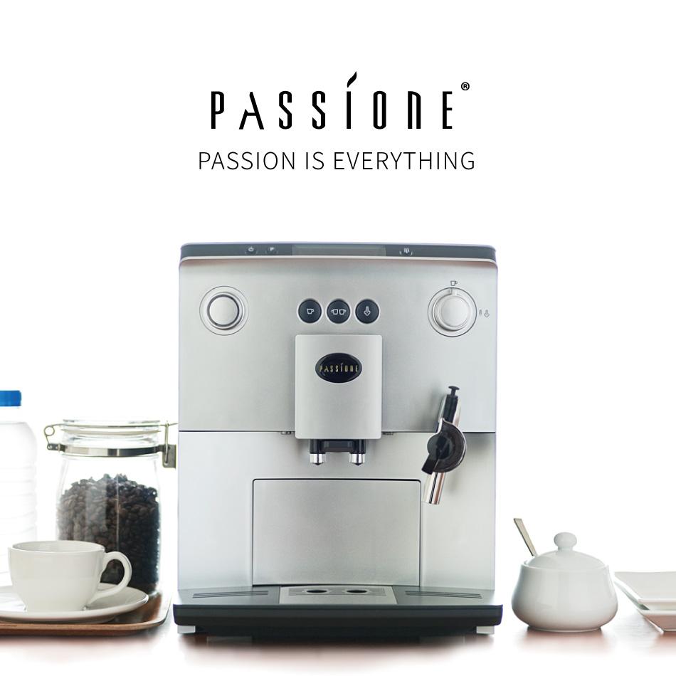 【PASSIONE メーカー直営店】【送料無料】 全自動コーヒーマシン PASSIONE エスプレッソマシーン コーヒーメーカー 全自動 全自動コーヒーメーカー パッシォーネ カプチーノ 挽きたて