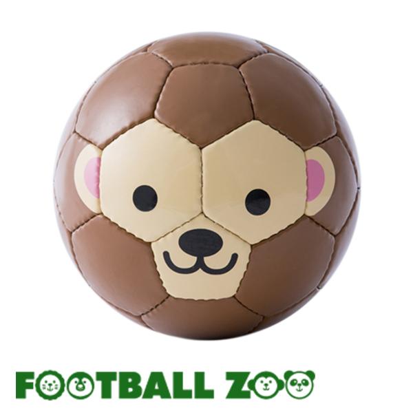 クマ ライオン パンダ ワニ ペンギン サル トラ ウサギ ヒツジ 宅配便送料無料 ゾウ ネコ かわいい動物デザインで誕生日 出産祝いにも FOOTBALL ZOO 1号球 モンキー ミニサッカーボール さる サッカー キッズ スフィーダ メーカー再生品 フェアトレード ミニボール フットサル ギフト ベビー SFIDA フットボールズー