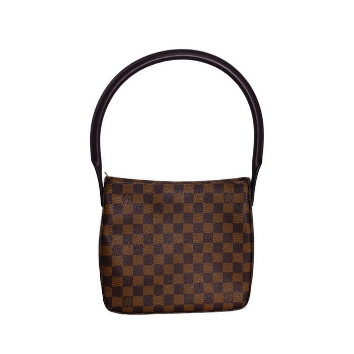 中古 Louis 百貨店 Vuitton ルイヴィトン ルーピング M 誕生日/お祝い B04357 ダミエ