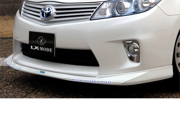 LX-MODE LXモード エアロ10系SAI G/SLXフロントスポイラーVer.LED(未塗装)[代引き不可商品]