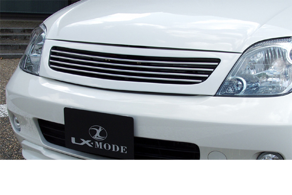 LX-MODE LXモード エアロ【60系イスト ist】 LXフロントグリル(未塗装)[代引き不可商品]