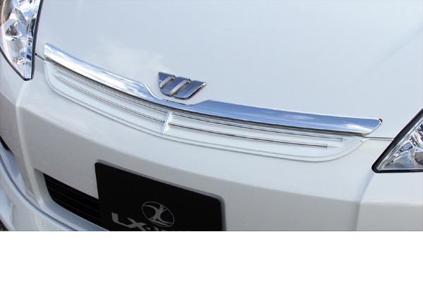 LX-MODE LXモード エアロ10系ウィッシュ 前期LXカラードフロントグリルブラインドコーナーモニター無し車用(塗装済み)[代引き不可商品]