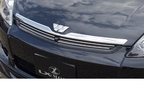 LX-MODE LXモード エアロ10系ウィッシュ 前期LXフロントグリルブラインドコーナーモニター有り車用(未塗装)[代引き不可商品]