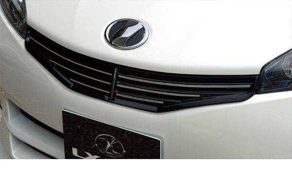 LX-MODE LXモード エアロ20系ウィッシュ 前期 【X/G】LXフロントグリル(未塗装)[代引き不可商品]