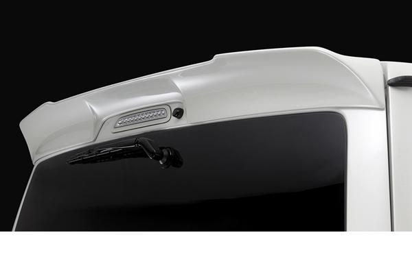 SilkBlaze シルクブレイズ エアロ【200系ハイエース 3型/4型 (標準車)】リアウィングVer.2(塗装済み)