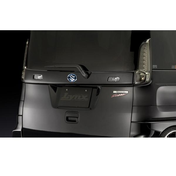 SilkBlaze Lynx シルクブレイズ【MK32S スペーシアカスタム】 リアゲートパネル (未塗装)