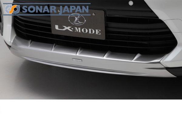 LX-MODE LXモード エアロ60系ハリアーZSU60/65,AVU65LXフロントアンダーガーニッシュ(ハイパーシルバー塗装)[代引き不可商品]
