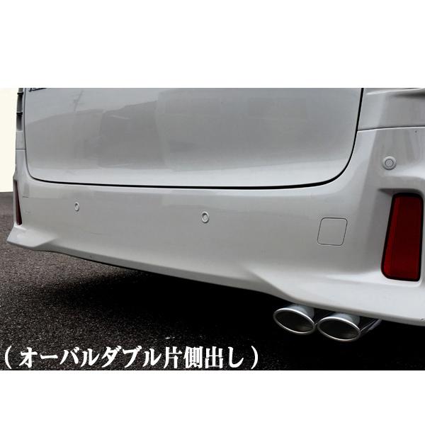 爆音皇帝Direct マフラー30アルファード/30ヴェルファイア DBA-AGH30W(2WD) H27.1~オーバル ダブル[代引き不可商品]