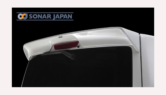 日産 NV350 キャラバン E26 標準幅リアウィングSilkBlaze シルクブレイズ プレミアムライン エアロ[未塗装][単色塗装][代引き不可商品]