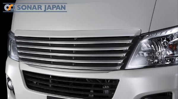 SilkBlaze シルクブレイズ プレミアムライン エアロ日産 NV350 キャラバン E26 【標準幅】フロントグリル(塗装済み)[代引き不可商品]