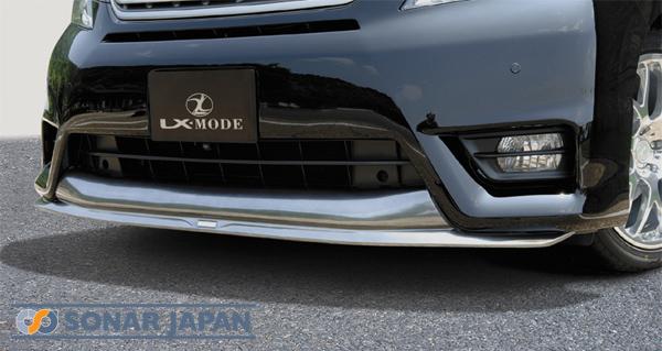 LX-MODE LXモード エアロヴェルファイアZ前期LXカラードフロントスポイラー(ハイグロス塗装済み)[代引き不可商品]