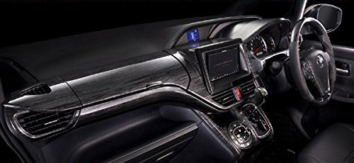 SilkBlaze シルクブレイズ 80系 ノア ヴォクシー 期間限定の激安セール 黒木目 ウィンドウスイッチパネル 予約販売品 カスタムインテリアパネル4点セット ガソリン車