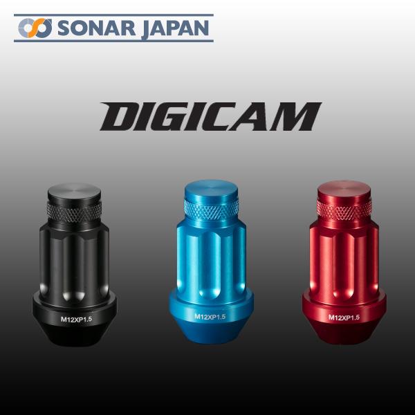 DIGICAM デジキャン鍛造アルミレーシングロックナット[袋ナット 45mm]20本セット
