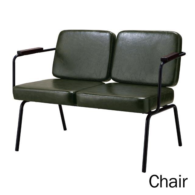 モダンインテリア[Modern Life モダンライフ]チェア RL-C6782 《椅子 いす イス ソファ 高座椅子 ペアチェア 二人がけ 2人用 レザー調 おしゃれ オシャレ 北欧 店舗向け 飲食店 カフェ レストラン》