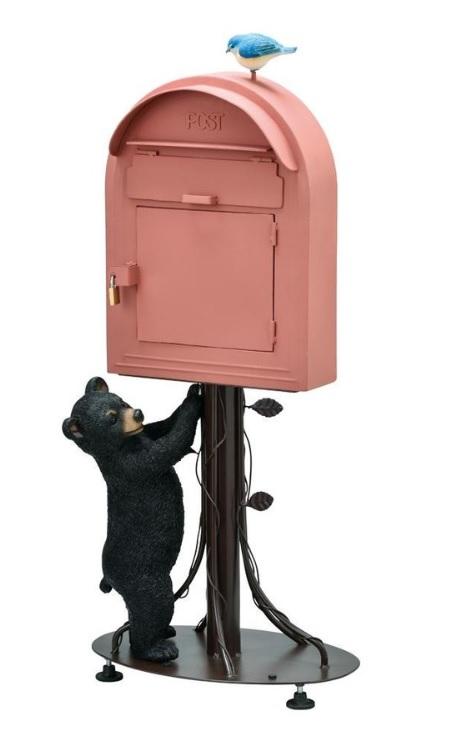 【送料無料(北海道・沖縄・離島は除く)】スタンドポスト メールボックス ポスト  SI-3802-3500《ポスト 郵便 オシャレ かわいい シンプル メール便  エクステリア 玄関 エントランス》
