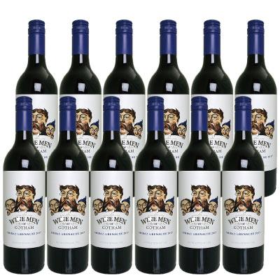 ワイン メン オブ ゴッサム シラーズ グルナッシュ 赤 750ml オーストラリア 12本セット