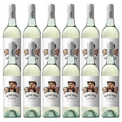 ワイン メン オブ ゴッサム モスカート[微発泡性やや甘口] 12本セット プレゼント ワイン 飲み比べ ギフト おしゃれ 酒 お盆 お彼岸 敬老の日 贈答