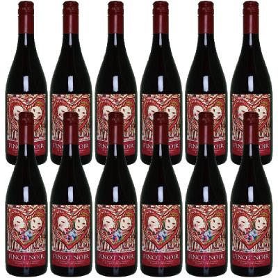 赤 フランスワイン 【ケース売】 ミレジム・ピノ・ノワール Millésimes Pinot Noir x12本【ケース特価】沖縄不可 送料無料 代引不可