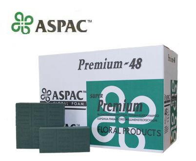 フローラルフォーム オアシス 1ケース 送料込 人気上昇中 フローラルフォームASPAC PREMIUM 高い素材 1ケース48個入 華道 花資材 フラワーアレンジ 沖縄不可