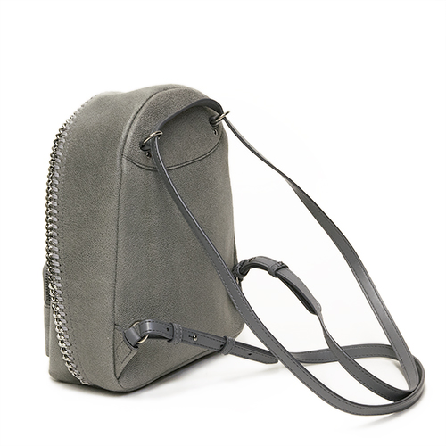 57b917c721 Stella McCartney STELLA McCARTNEY rucksack FALABELLA SHAGGY DEER MINI  BACKPACK LIGHT GREY light gray 468908 W9132 1220