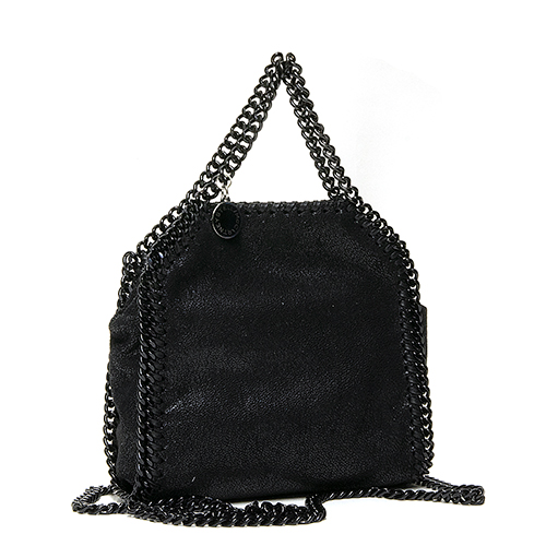 22ce545e52 Stella McCartney STELLA McCARTNEY handbag FALABELLA BLACK CHAIN TINY TOTE  Fala seawife black chain Thailand knee Thoth BLACK black 391698 W8180 1000
