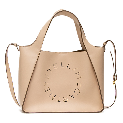 ステラマッカートニー STELLA McCARTNEY トートバッグ(2WAY仕様) POWDER パウダー Cross Body Bag Stella Logo Eco Soft Alter Nappa 513860 W8542 6802 【送料無料】*