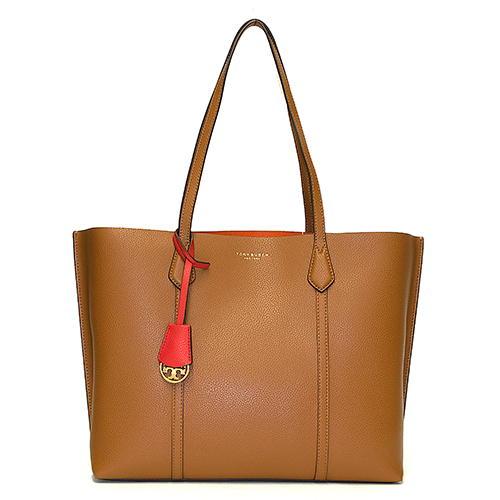 TORY BURCH トリーバーチ トートバッグ LIGHT UMBER ライトアンバー PERRY TRIPLE COMPARTMENT TOTE 53245 905 【送料無料】