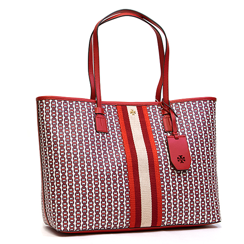 1f1a9b7d9 Brand, Tolly Birch (TORY BURCH). Product, Tote bag. Article number, GEMINI  LINK CANVAS TOTE