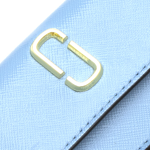 Mark Jacobs MARC JACOBS three fold wallet (with the coin purse) Snapshot  Mini Trifold MISTY BLUE MULTI ミスティブルーマルチ M0013597 456