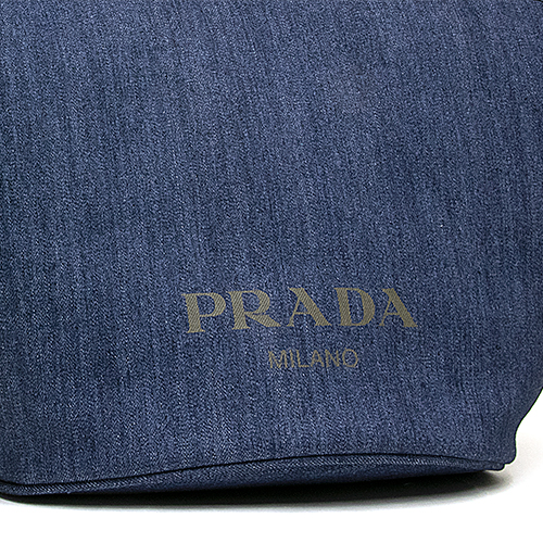 Prada PRADA tote bag (2WAY specifications) blue   khaki 1BG243 2BBV F0YFS  OOO DENIM+CITY CALF BLU MIMETICO 8d19e2d4da