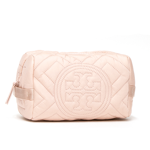 トリーバーチ TORY BURCH コスメポーチ MINERAL PINK ミネラルピンク FLEMING QUILTED NYLON COSMETIC CASE 55322 684