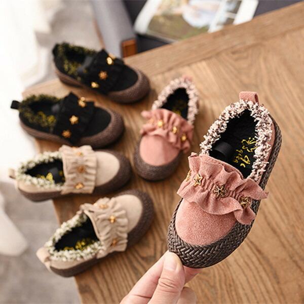 子供靴 モカシンシューズ 女の子 モカシン キッズ 靴 フォマール靴 シューズ 公式ストア スエード レザー cj0099 お出かけ 黒 ピンク 本革 2020A W新作送料無料 シンプル ブラック ベージュ カジュアル