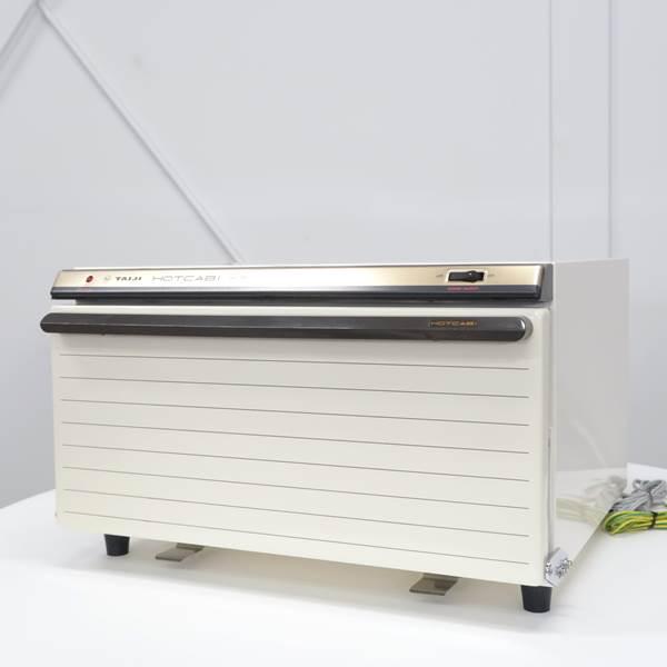 【未使用品】タイジ ホットキャビ おしぼりウォーマー ホワイト HC-15F