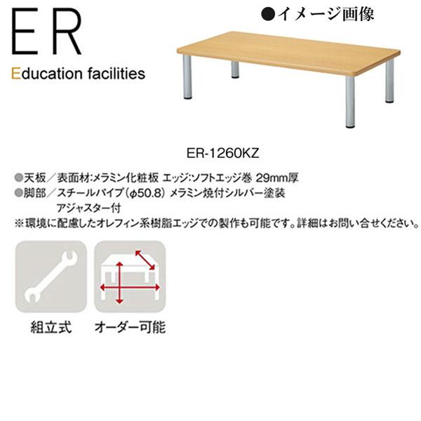 ニシキ ER 幼稚園用テーブル 座卓 角型 W1200 D600 H330 ER-1260KZ