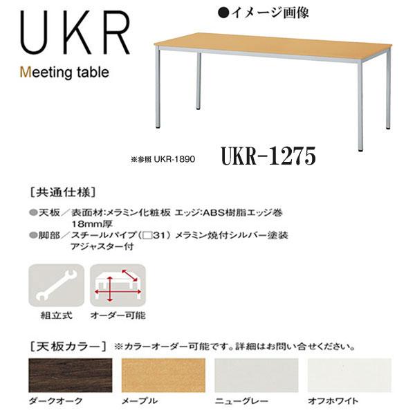 ニシキ UKR ミーティングテーブル W1200 D750 H700 UKR-1275