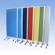 dia PANEL(ディアパネル) W1200 H1800 7色カラー 安定脚セット付