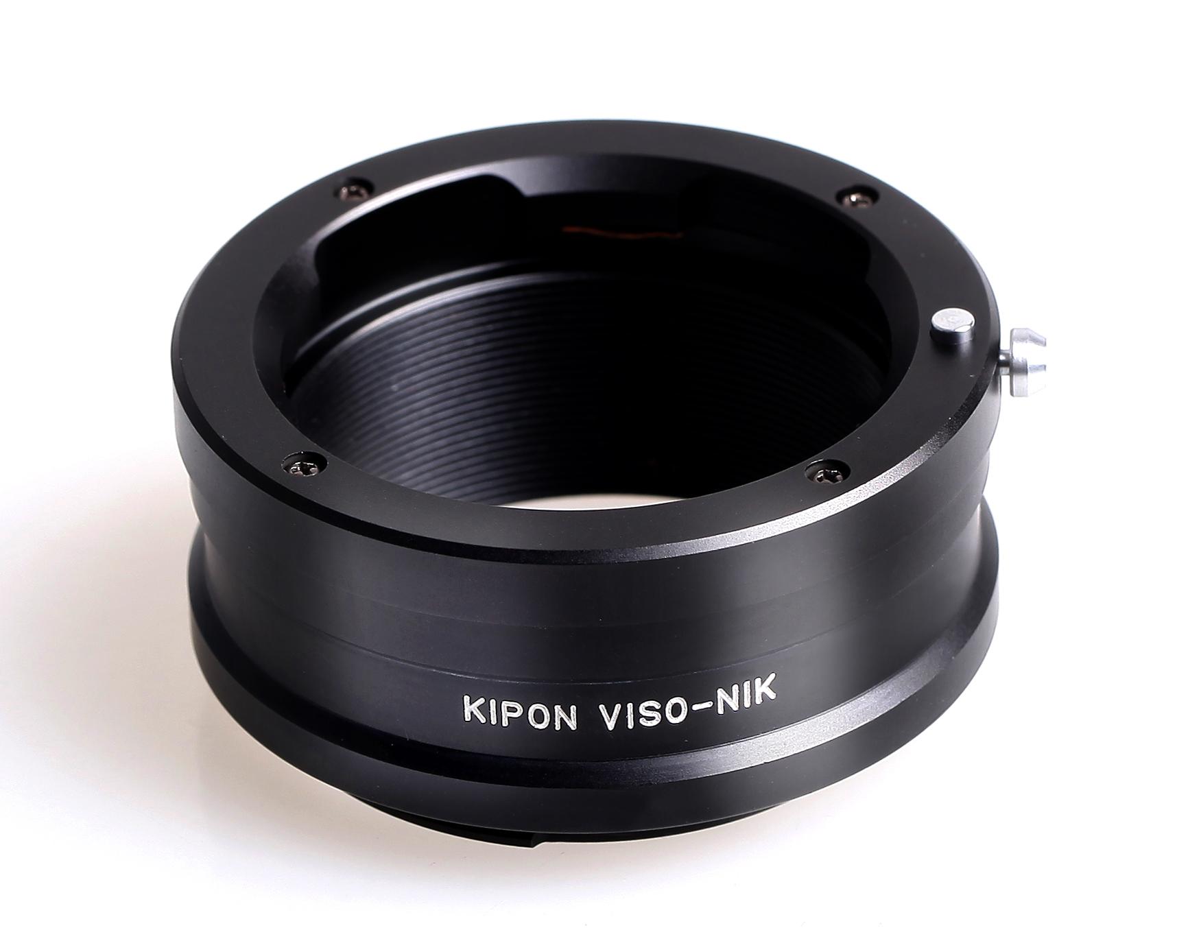 スーパーセール ライカビゾフレックスマウントのレンズをニコンFマウントのボディで使用する為のマウントアダプターです KIPON VISO-NIK マウントアダプター まとめ買い特価 ボディ側:ニコンF レンズ側:ライカビゾフレックス