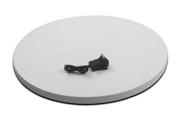 BKL NA600W [撮影用ターンテーブル 白] 電動ターンテーブル スニーカー・アクセサリーなど撮影用 40kg