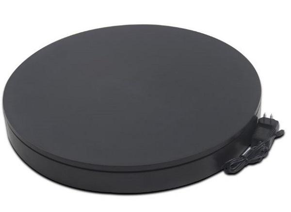 BKL NA5006BK [撮影用ターンテーブル 黒] 電動ターンテーブル 出品などの撮影用 40kg