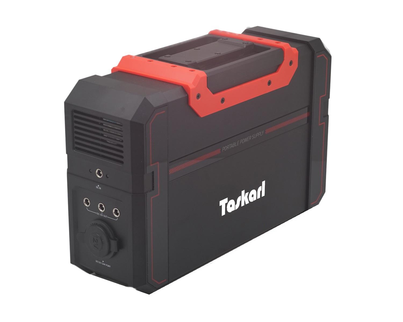 【Taskarl】TPD-S450  大容量ポータブル電源120000mAh/444Wh PSE認証済 AC電源 DC電源 USB対応ソーラー充電 車中泊 キャンプ、緊急・災害時バックアップ用電源 タスカール!1年保証