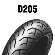 DUNLOP D205F 110/80R18 M/C 58V WT フロント用 ダンロップ・D205 ※チューブタイプ※HONDA CB1100EX('14~)用商品番号310025