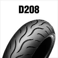 DUNLOP D208F 120/70ZR19 M/C (60W) TLダンロップ・D208・フロント用商品番号277309