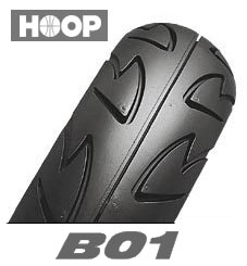 BRIDGESTONE HOOP B01 120/80-12 65J TL フロント・リア共用 ブリヂストン・フープ B01商品番号 SCS60031