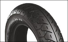 BRIDGESTONE MOLAS ML35 110/90-10 61J TL フロント用 ブリヂストン ML35商品番号 SCS00310