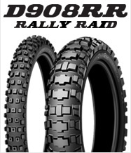 DUNLOP D908RR 140/80-18 M/C 70R WT リア用 ダンロップ・D908RR(RALLY RAID)商品コード293393競技用