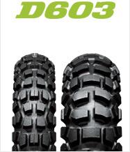 DUNLOP D603 3.00-21(前台)&4.60-18(后部)前后轮胎·一般管子·轮圈带安排邓禄普、D603轮胎·管子·轮圈带安排商品号码226379.227887